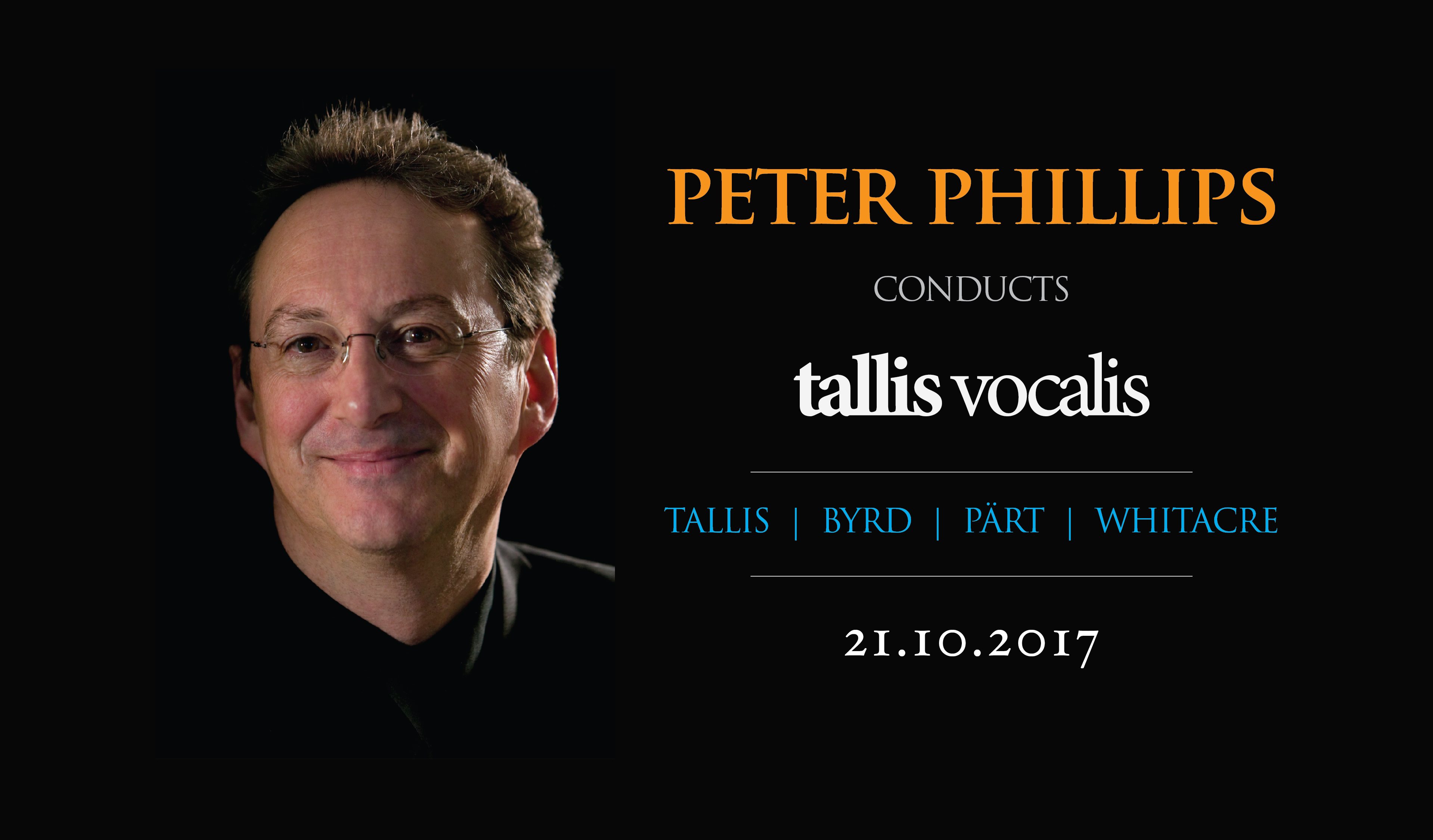 Peter Phillips conducts Tallis Vocalis